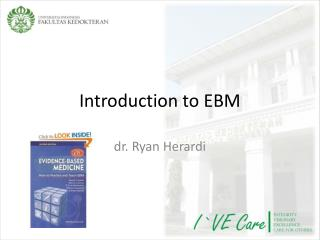 Introduction to EBM