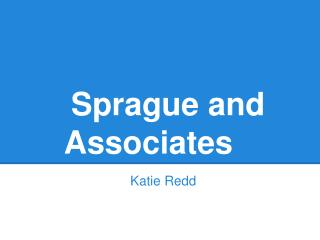Sprague and Associates