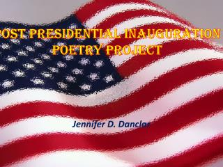 Post Presidential Inauguration  Poetry Project