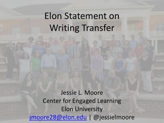 Elon Statement on Writing  Transfer