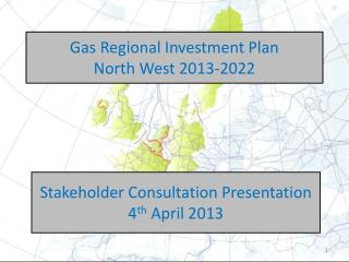 Gas Regional Investment Plan North West 2013-2022