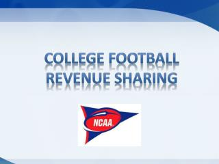 College football revenue sharing