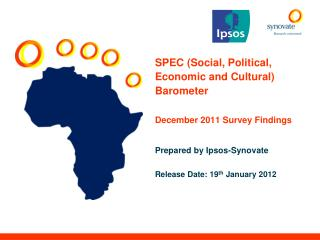 SPEC (Social, Political, Economic and Cultural) Barometer December 2011 Survey Findings