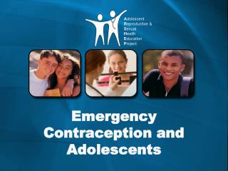 Emergency Contraception and Adolescents