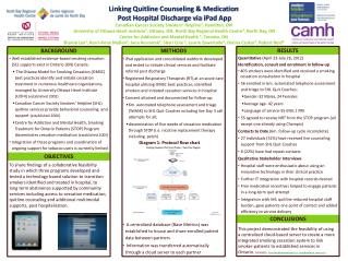 Linking  Quitline  Counseling & Medication  Post Hospital Discharge via  iPad  App