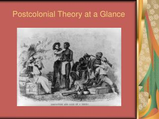 Postcolonial Theory at a Glance