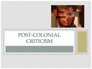 Post-Colonial criticism