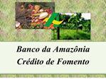 Banco da Amaz