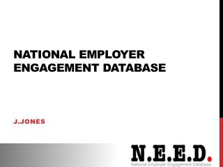 National Employer Engagement Database