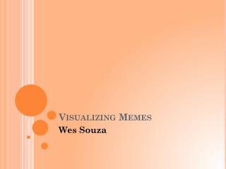 Visualizing Memes