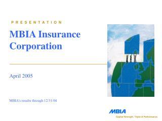 MBIA Insurance Corporation