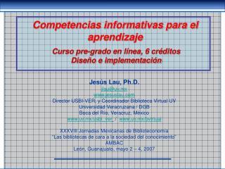 Competencias informativas para el aprendizaje