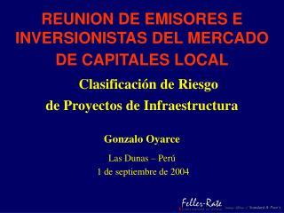 REUNION DE EMISORES E INVERSIONISTAS DEL MERCADO DE CAPITALES LOCAL