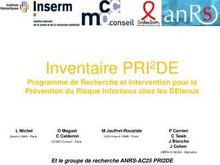 Programme PRI 2 DE