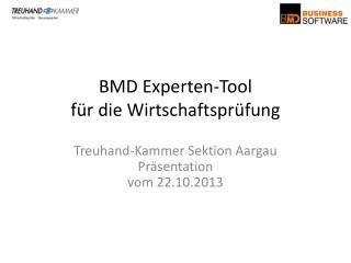 BMD Experten-Tool für die Wirtschaftsprüfung
