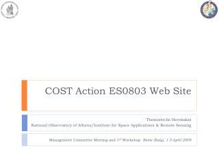COST Action ES0803 Web Site