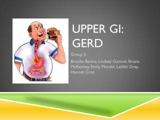 Upper GI: GERD
