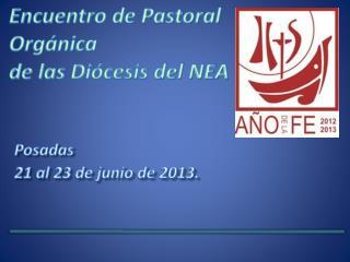Posadas 21 al 23 de junio de 2013.