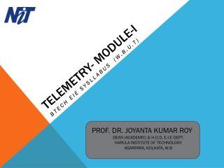 TELEMETRY- MODULE-I