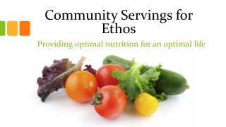 Community Servings for Ethos