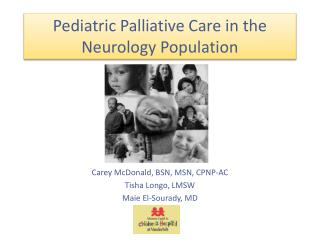 Pediatric Palliative Care in the Neurology Population
