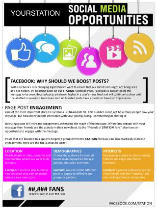 FACEBOOK : WHY  SHOULD WE BOOST POSTS?