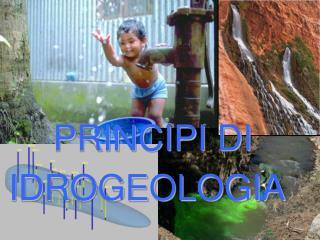 PRINCIPI  DI IDROGEOLOGIA