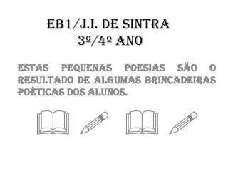 EB1/J.I. de SINTRA  3�/4� Ano
