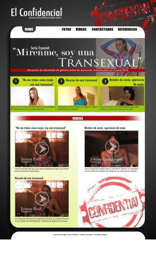 """""""No me traten como mujer, soy una transexual"""""""