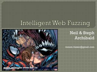 Intelligent Web Fuzzing