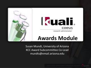 Awards Module