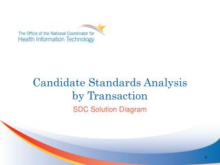 Candidate Standards Analysis by Transaction