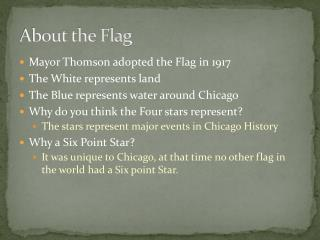 About the Flag