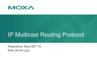 IP Multicast  Routing Protocol