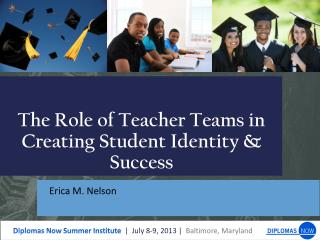 The Role of Teacher Teams in  Creating  S tudent Identity & Success