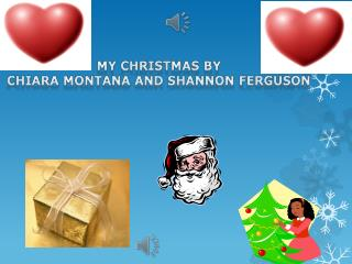 My Christmas by  Chiara Montana and Shannon Ferguson
