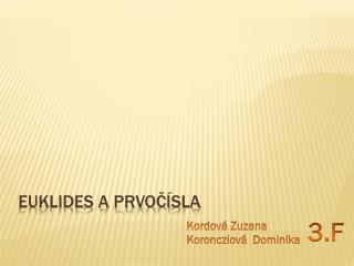 Euklides a prvočísla