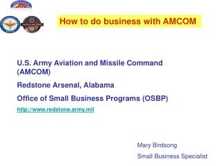 How to do business with AMCOM