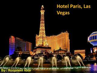 Hotel Paris, Las Vegas