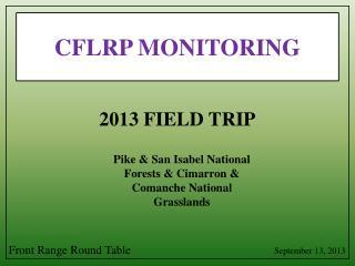 CFLRP MONITORING