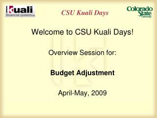 CSU Kuali Days