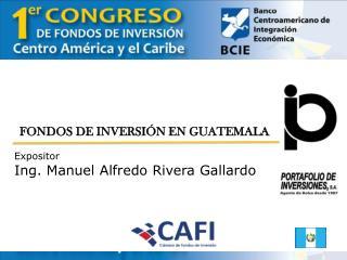 FONDOS DE INVERSIÓN EN GUATEMALA