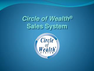 Circle of Wealth ® Sales System
