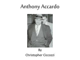 Anthony Accardo