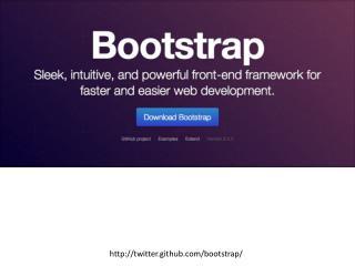 http:// twitter.github.com /bootstrap/