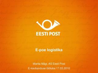 E-poe logistika