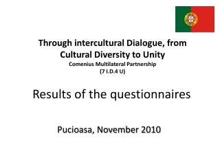 Results  of the questionnaires