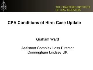 CPA Conditions of Hire: Case Update