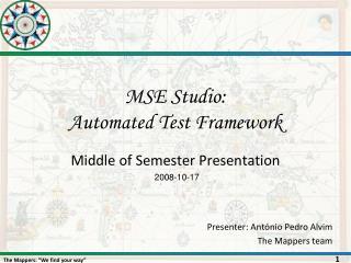 MSE Studio:  Automated Test Framework
