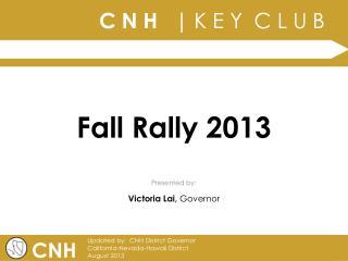 Fall Rally 2013